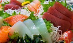 Receita de sashimi com 3 variedades de peixes – Mundo-Nipo