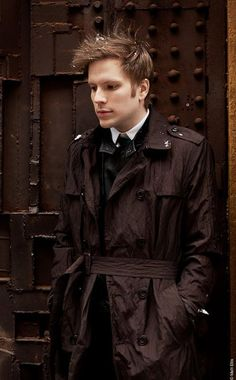 {Patrick Stump} Phoenix Benzedrine, 24. He loves his life; working as a music producer in the morning to singing and playing in a band at night. It was the perfect life, he had many friends and he was friendly to everyone. It was a normal day until he woke up stuck in 1950 with no idea how he even got here. He tried to figure out how to manage until a woman helped him. He now works at a local radio station as a broadcaster, annoucing every song and playing songs on the radio.