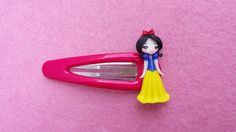 Hook snow White in fimo polymer clay by Artmary2 on Etsy, €6.00