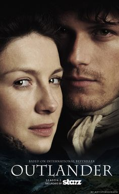 """#Outlander Season 2 Poster: Jamie x Claire (Fan-made)"""