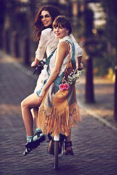 Girls on Bikes // 79 Ideas