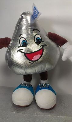 Petting Zoo Hershey Kiss Kisses Candy Stuffed Animal Plush 2009 Doll  #PettingZoo