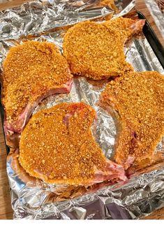 The Best Pork Chops Ever - tolle Rezepte - Fleisch Pork Dishes, Baking Recipes, Baking Hacks, Paleo Recipes, Soup Recipes, The Best, Easy Meals, Weeknight Meals, Food And Drink