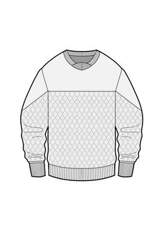 Quilted long sleeve