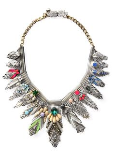 Shourouk- i LOVE this necklace. its beyond stunning in person.