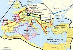 Gli Arcani Supremi (Vox clamantis in deserto - Gothian): Le invasioni barbariche e la caduta dell'Impero Romano d'Occidente