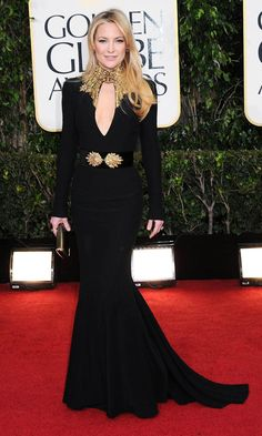 Kate Hudson In Alexander McQueen At The Golden Globes 2013 --- stunner