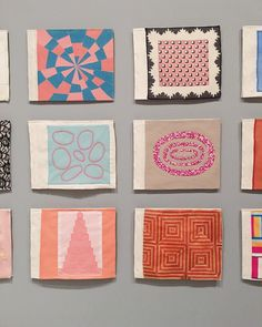 Louise Bourgeois at @themuseumofmodernart. The fabric books were my favorite. #louisebourgeois