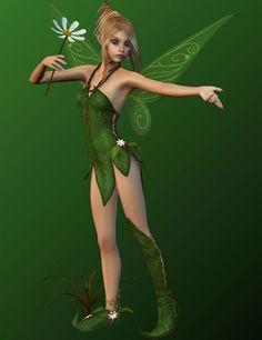Florabelle for V4 and Genesis | Fairies Elves for Daz Studio and Poser