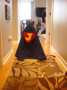 Superhero bath cape!