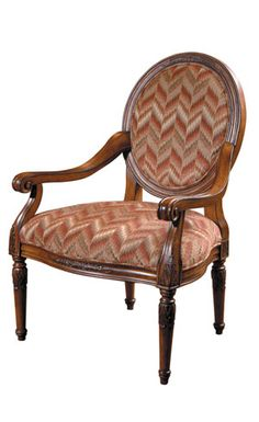 Carved Chairs - Harden Furniture 3460-000.