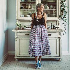 & here is the other one of our FGL Skirt  ---> forgoodluck.se #fglskirt #fglshop #exclusive : @krickelin & @mirandarebecca
