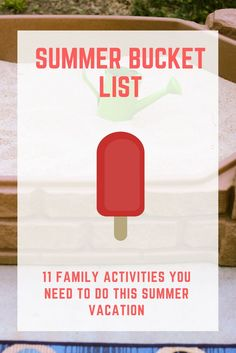 Summer Bucket List: