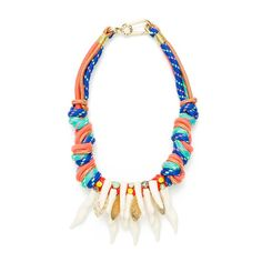 www.cewax.fr aime la nouvelle collection Bimba Y Lola - Short coral necklace