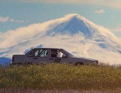 Mitch Lea's 850 on the sunny side of Mt Hood. Volvo 850, Automobile, Car, Autos, Autos, Cars, Cars