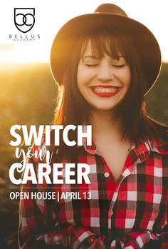 They say change is the only constant. If you've been considering making a change in your career, this event at our Poway campus is for you! Join us for this very special open house to meet our staff, tour the school, learn about our career services department and job search assistance, PLUS enjoy refreshments, giveaways, and chair massages! Isn't is time for you do something you love? RSVP Today! #iChoseBellus #CareerGoals #MakeAChange