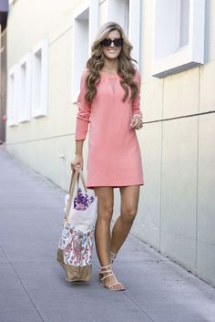 Weekly Flower Run + WIWW (chicstreetstyle) - Street Style Beautiful Casual Dresses, Trendy Dresses, Short Dresses, Fashion Dresses, Dresses For Work, Summer Dresses, Cute Outfits, Casual Outfits, Mode Hijab
