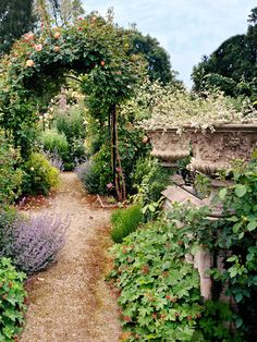 Dries van Noten's garden in Belgium