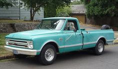 Sweet truck. I could haul a lot of furniture and/or garden stuff in this beauty. Curbside Classic: 1967 Chevrolet C20 Pickup | The Truth About Cars