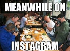 Meanwhile on @Instagram!!! #humor