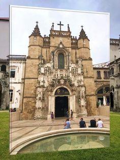 Mosteiro de Santa Cruz - Coimbra VIAJAR é alargar os nossos horizontes - Vamos de Férias Notre Dame, Mansions, House Styles, Building, Places, Travel, Santa Cruz, Viajes, Traveling