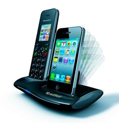 iCreation I650 Dock For iPhone and DECT Cordless Home Phone