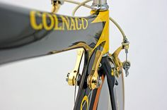 Colnago Crono Oro Such a fanatic shot. Might copy this angle on my bike Bicycle Parts, Bicycle Shop, Bike Details, Trial Bike, Motorcycle Shop, Bike Style, Cool Bicycles, Bicycle Accessories, Bicycle Design