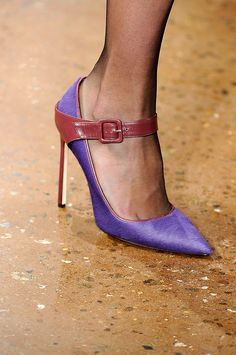 Sophie Theallet Fall 2012 RTW Runway Shoes. Amazing Lady Style Pumps #Heels
