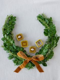 Fall wreaths should always include diamonds, right? | The Mrs. Box