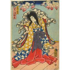Woodblock print      Date: 2/1860-3/1860     Place: Edo     Artist/maker: UTAGAWA KUNISADA I