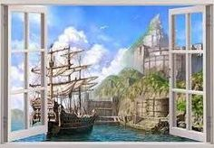 wall decals fantasy window - Google Search