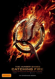 The Hunger Games: Catching Fire (2013) Teaser Poster #catchingfire #hungergames #film