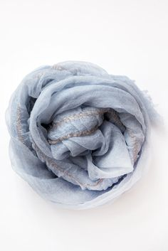 pas de calais blue scarf – Lost & Found