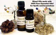 Altar Blessing Anointing Ritual Oil - Wiccan, Oils for Spells, Anointing Oils, Made with 100% Pure Essential Oils and Blessing Intentions by…