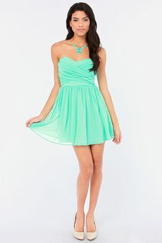 Girls Strapless Dress