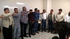 El titular de la dependencia estatal, Israel Tentory García, le tomó la protesta a la nueva Mesa Directiva de la Asociación Michoacana de Usuarios de Riego, al frente de la ...