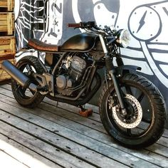 Honda Twister 250cc. ⚡ #customscalifornia #californiacustoms #motorcyclebuilders #caferacer #tracker - customscalifornia