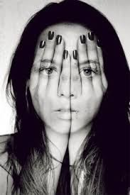 Image result for emotions in shattered mirror mixed media