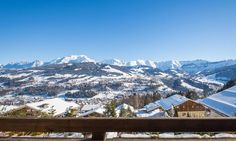 Chalet Blackbird in Megève, France #chalet #megeve #panorama #amazing #view #luxury