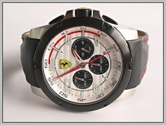 Scuderia Ferrari Chronograph Manufacturer List Price 375,-€ / free Shipping