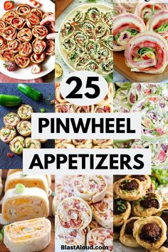 25 Pinwheel Appetizers For Game Day: Pinwheel Roll Ups Be the star at your next gathering with these delicicous pinwheel appetizers! These pinwheel roll ups are a real crowd pleaser – perfect for game day! - Everything About Appetizers Appetizers For A Crowd, Finger Food Appetizers, Food For A Crowd, Appetizer Recipes, Italian Appetizers, Cold Party Appetizers, Make Ahead Cold Appetizers, Cold Party Food, Birthday Appetizers