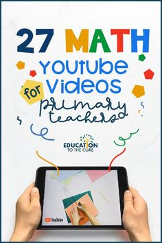 Math videos are great to use in a variety of settings!  I use math videos to get my students started in the morning, during indoor recesses, brain breaks, 5 minute time gaps, and of course in math block.  They are a great tool to get your students up and moving, while learning math skills.  Here are some of my favorites covering many of the math skills our students have to learn. Teacher Education, Student Teaching, Math Blocks, Second Grade Teacher, Kids Study, Primary Maths, Math Workshop, Math Concepts, Little Learners