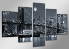 CUADROS EN LIENZO SUPER OFERTAS NEW YORK, Arte, Dibujo, Arte, Pintura, Arte, Fotografía, Hogar, Cuadros
