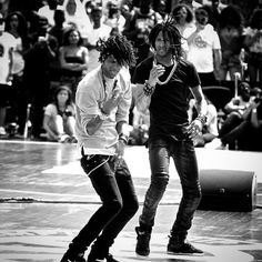 "Les Twins, identical twin brothers Larry & Laurent Bourgeois are French dancers, choreographers, & models. Also known for them nicknames, ""Lil Beast"" & ""Ca Blaze"", they are recognized internationally for their talents in new style hip-hop dancing. Both are phenomenal and unreal. I don't have a words to describe how great they are, I wish I had even a little of their talent. UNIQUE"