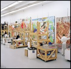 Image result for jeff koons studio