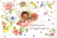 Vintage Hallmark Mary Hamilton Son Friend Happy Spring Easter Cards Envelopes