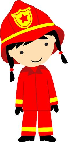 bombeiros e pol cia minus alreadyclipart professions rh pinterest com firefighter clip art images firefighter clipart black and white