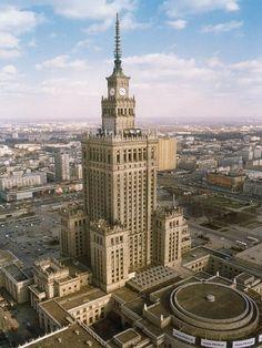 сталинская высотка в Варшаве