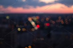 Bokeh Lights, City Background, Christmas Island, Advertising Photography, Night City, Abstract, Summary, Commercial Photography