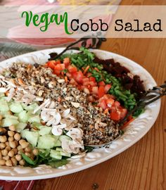 The Perfect Vegan Cobb Salad